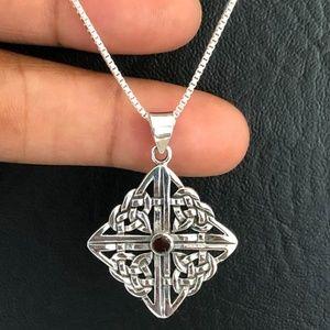Sterling Silver Celtic Necklace
